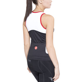 Castelli Solare Top Women black/white/red